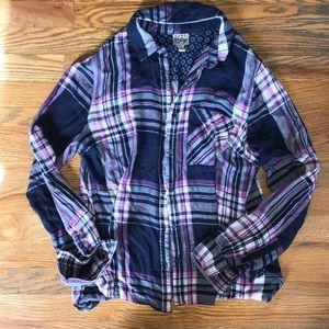 Como Vintage Flannel Top